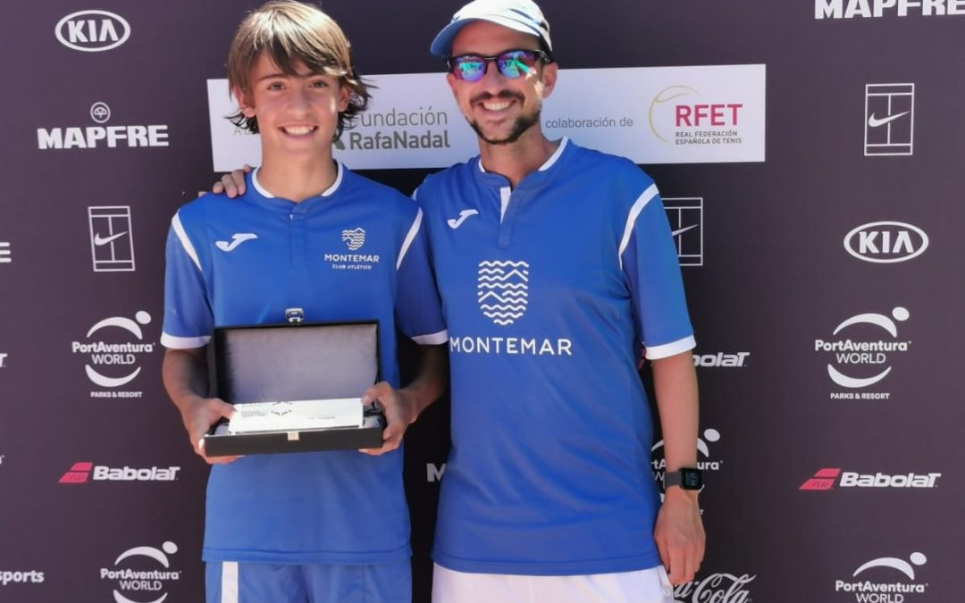 Iker Sevilla finalista del Rafa Nadal tour de Valencia